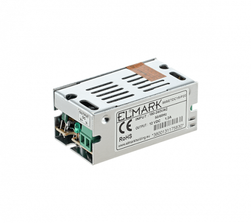 SETDC15 TRANSFORMATOR ZA LED 15W 230AC/12VDC IP20 - image Transformator-15w-510x454 on https://www.energopanel.com