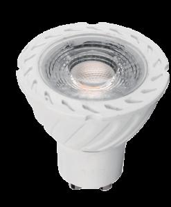 LED ŽARNICA GLOBE G45 6W E27 230V TOPLO BELA - image gu-10-7W-247x300 on https://www.energopanel.com