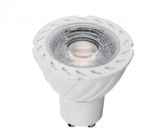 LED ŽARNICA LED LAMP LEDCOB GU10 7W GU10 230V BELA - image gu-10-7W-510x454 on https://www.energopanel.com