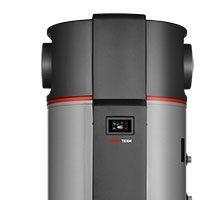 Toplotna črpalka za sanitarno vodo KRONOTERM eco WP2 LF-202E in 302E